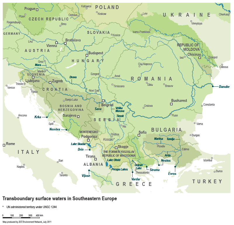 Transboundary Water Bodies in SEE